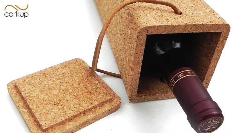 bo te cadeau pour bouteille cadeau original d 39 entreprise en li ge. Black Bedroom Furniture Sets. Home Design Ideas