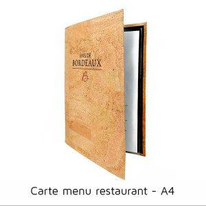 acheter carte menu bar