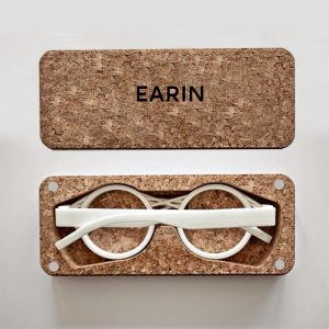 Écrin packaging lunettes liège