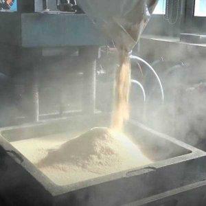 Fabrication par moulage produit en liège