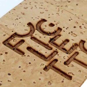 Produits en liège logo chaud