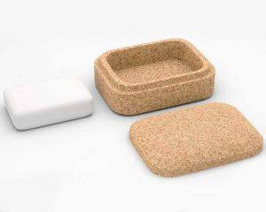 Boite rectangulaire pour savon solide