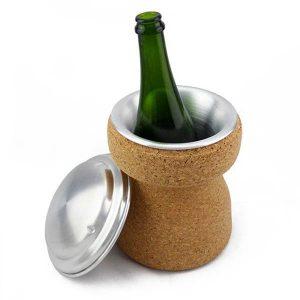 Seau à champagne design liège