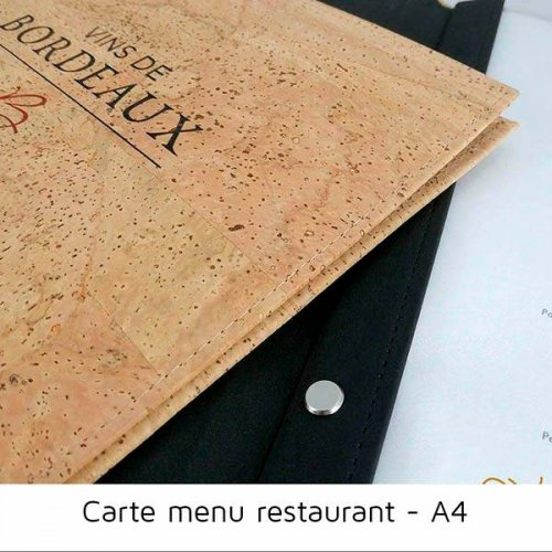 Carte menu vis remplacer